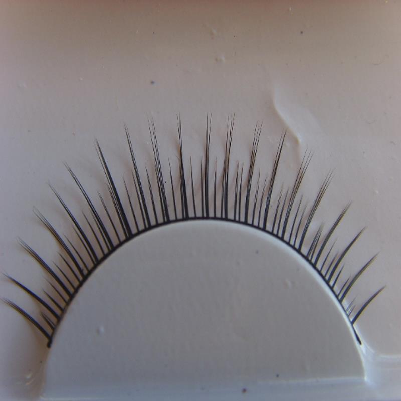 maquiagem eyelashes cilios popular1 pairs natural short slim False eyelashes eye lashes profissional Watch video please