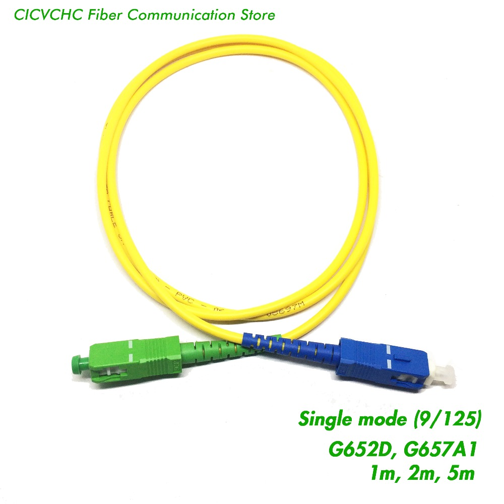 10 stks SC / UPC-SC / APC Fiber Patchcord-SM (9/125) G652D of - Communicatie apparatuur