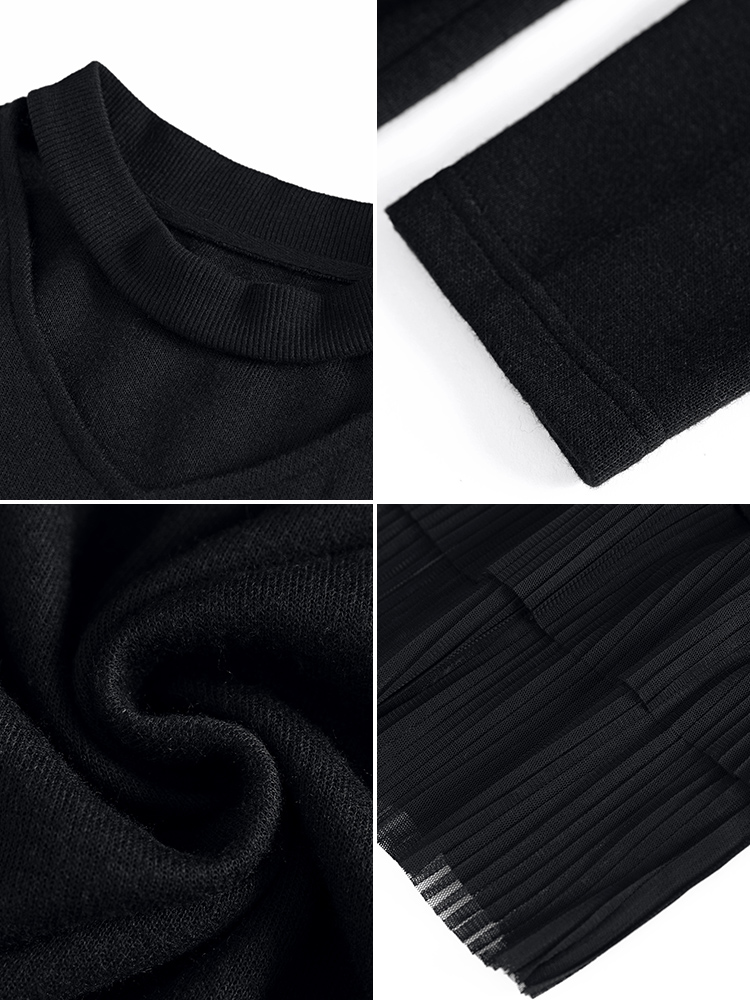 Grand Français Vêtements Costume Mince Femmes Dl501 Noir Belle Légèrement Élégant Fille 75kgs De Hiver taille Robe Harmonique TTx1rUA