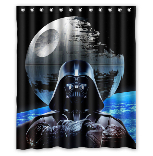 Custom Star Wars Shower Curtain For Customer