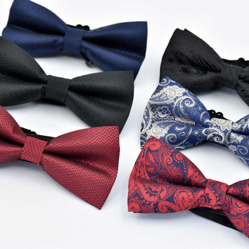 26704e52677d Detail Feedback Questions about Bow tie, men's flat double layered ...