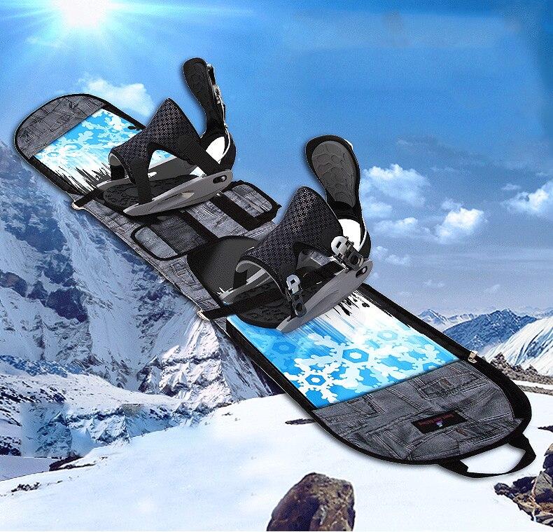 Лыжный Спорт Сумки; специальное предложение; Модные женские джинсовые шпон доска набор для пельменей для катания на сноуборде сумка для катания на сноуборде Анти-Царапины шпон Защитная крышка