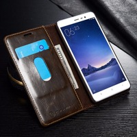 High End Magnetic Flip Wallet Leather Cases For Xiaomi Redmi Note3 On Note 3 Pro Prime
