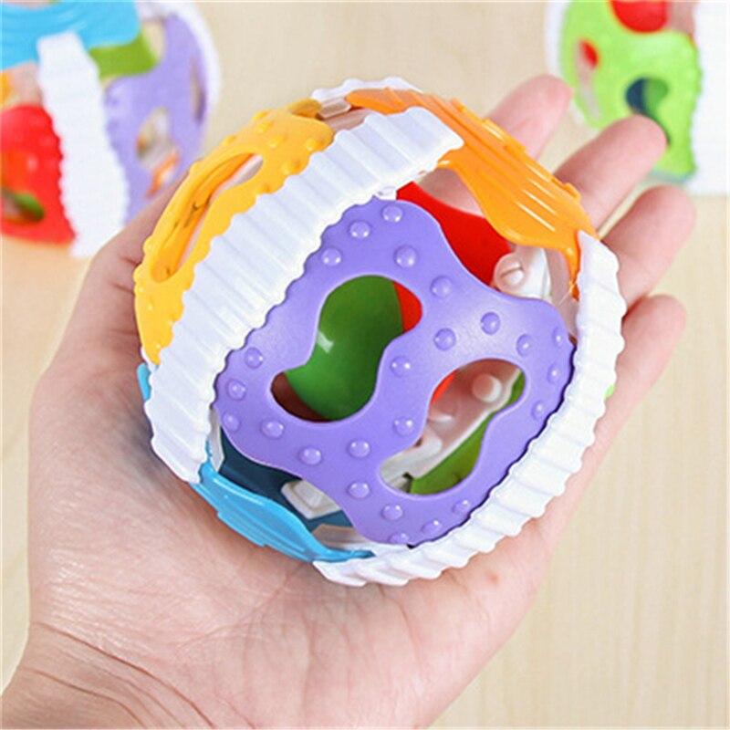 2019 Baby Speelgoed Luid Bell Ball Speelgoed Ontwikkelen Baby Intelligence Activiteit Baby Grijpen Rammelaars Hand Bell Speelgoed Rammelaar 5