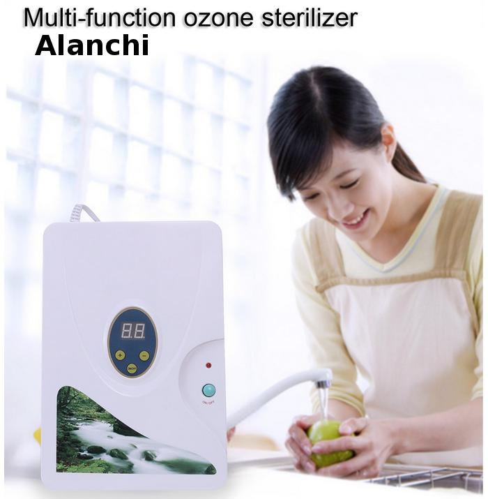 ozone generator 220v ozone generator water purifier household ozonizer and ozonator with digital timing display 220v 5g quartz tube ozone machine household ozone disinfector ozone generator parts
