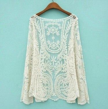 camicia donna sexy camisas mujer vetement femme ropa mujer lace blusa bordada autumn harajuku chiffon tops women blouse cardigan