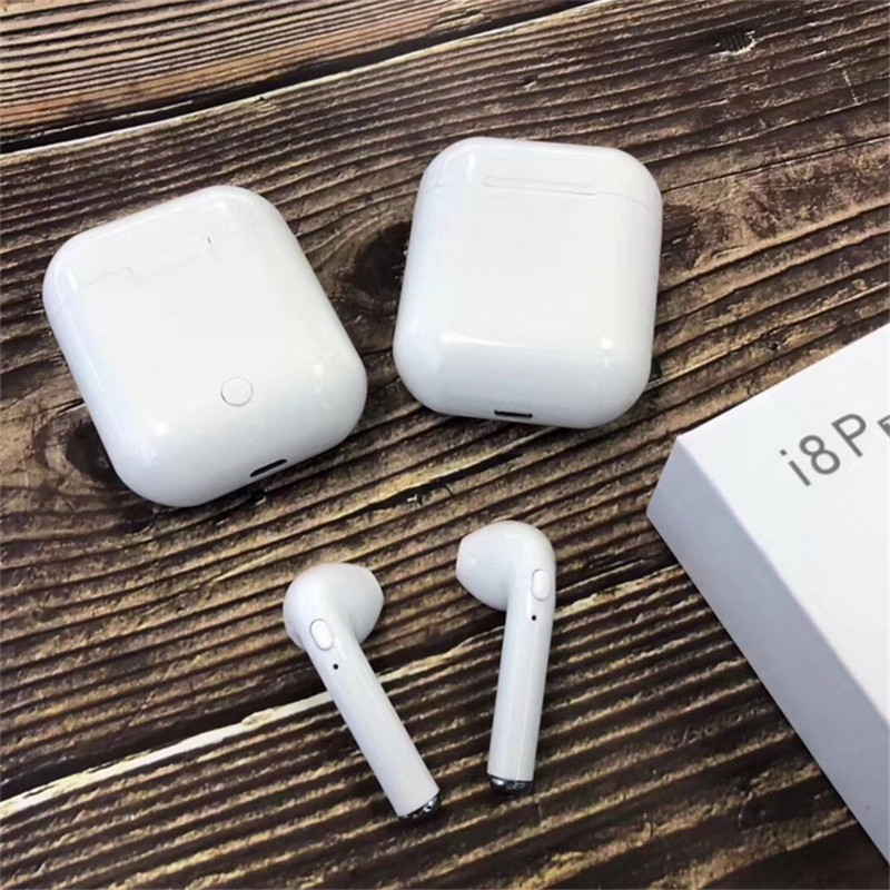 New <font><b>TWS</b></font> i8P Mini Bluetooth <font><b>earphones</b></font> Wireless Headphone Earbuds Stereo Bluetooth Headset Charging Case PK i7s <font><b>i8</b></font> i9 image