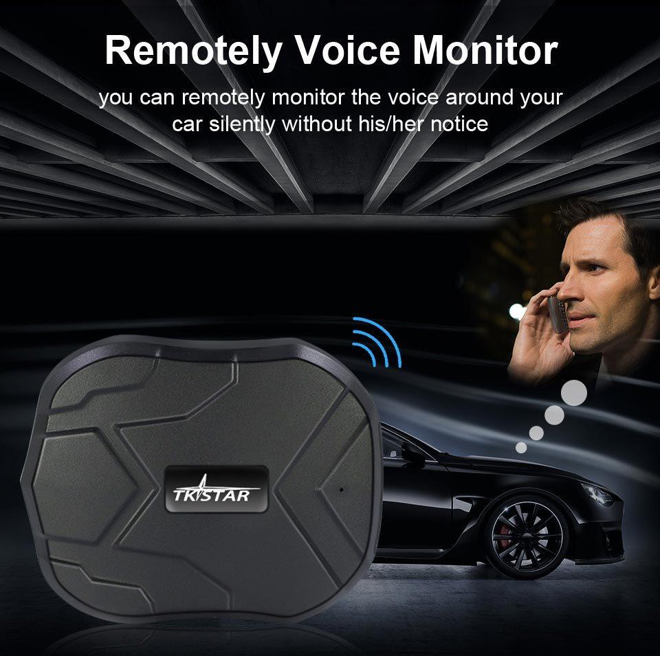 Localizador GPS para coche TKSTAR TK915, 3G, 80 días, con imán, seguimiento en tiempo Real, alarma de choque automático, PK TK905
