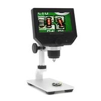 Digital Video Microscope 600X 4 3 3 6MP LED Magnifier Microscopio For Mobile Phone Maintenance QC