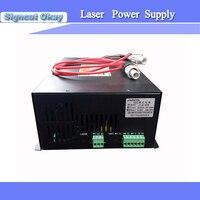 80 W fonte de Alimentação Do Laser com o Tubo Do Laser 80 W Usado para A Gravura Máquina de corte 3040 4060 6090 JIN ZHI YIN