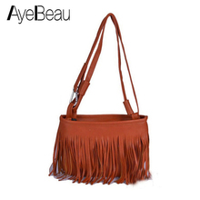 Mini Fringe Tassel Small Cross Body Shoulder Crossbody Women Messenger Bag Famous Brand Bolsos Bolsas Sac A Main Femme De Marque стоимость