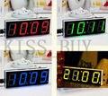 DIY kits Microcontrolador Digital LED Relógio Eletrônico tempo de tempo de exibição De Tela Grande