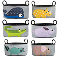 HOT SALE Bag Rabbit Strollers Mommy Pouch Baby Stroller Cartoon Waterproof Stroller Accessories Storage Hanging Bag