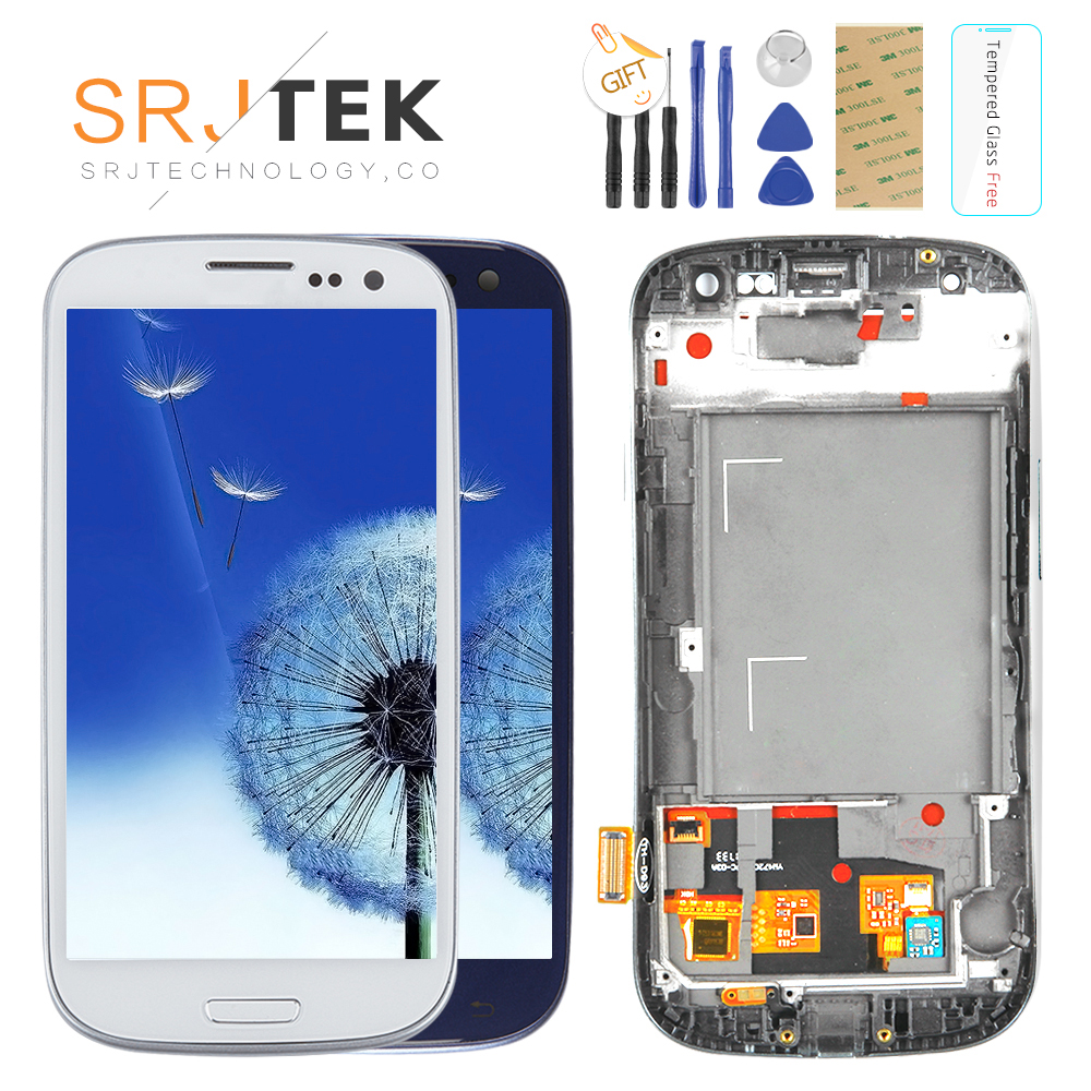 TESTADO Para SAMSUNG Galaxy S3 Exibição i9300 i9300i Tela Sensível Ao Toque de Substituição Digitador Para SAMSUNG Galaxy S3 Tela LCD