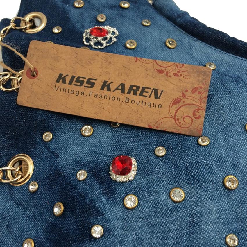 beijo karen rebites strass luxo Condition : 100% Brand New