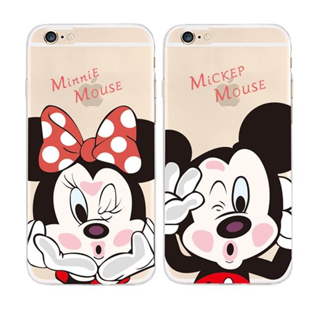 coque iphone 6 silicone minnie mickey