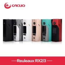 Original wismec reuleaux rx2/3 caja mod 150 w/200 w wismec rx2/3 tc caja de mod firmware actualizable rx200s mod