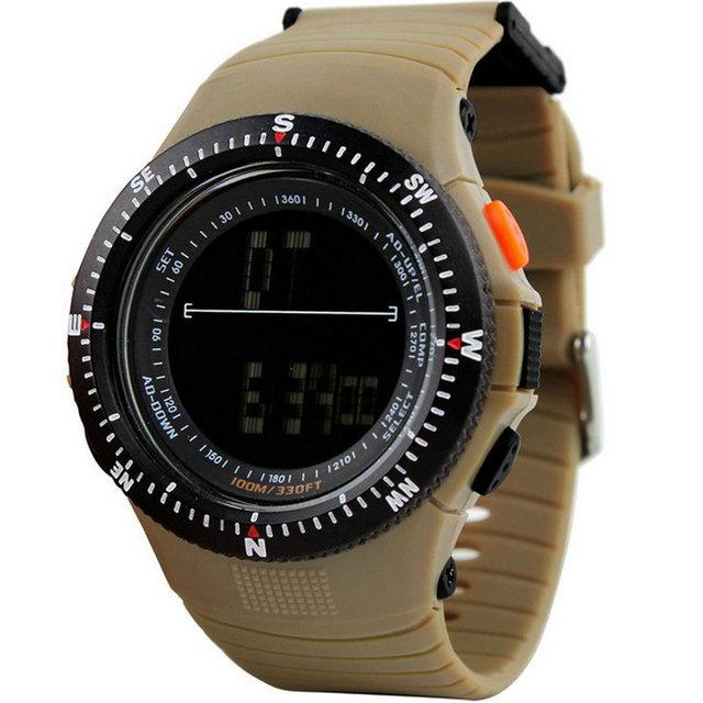 Apuramento Grande Display de Alta Qualidade China Digital LED Relógios De Pulso Moda Relógios Eletrônicos À Prova D' Água Esporte Ao Ar Livre