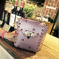 fashion fruit printing PU leather women bagcrossbody bags rivet handbag messenger bag chain shoulder bag