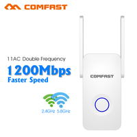 Comfast CF WR752AC 1200Mbps WIFI Repeater Router Access Point Dual Band Wireless Wi Fi Repeater Extender