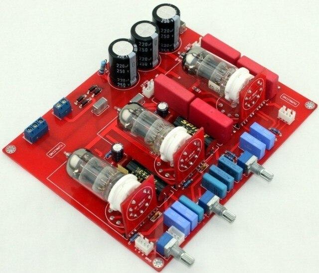 KYYSLB amplifikatörler 2018 6N1 tüp ton kurulu güç amplifikatörü kurulu