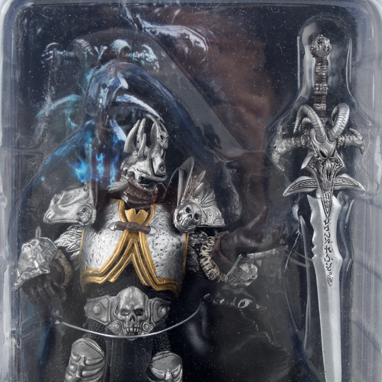 Starz Game WOW Arthas Menethil Fall of the Lich King Static Collection Action PVC Figure Toys Handing Frostmourne Free Shipping 1