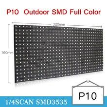 TEEHO P10 OutdoorLED Bảng Điều Khiển mô đun 3in1 SMD Ngoài Trời P10 LED Module 320*160mm 32*16 pixels 1/4 scan đầy đủ màu sắc SMD P10 LED bảng điều chỉnh