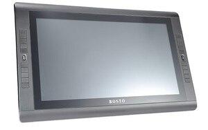 Image 5 - BOSTO ארטיסטה KINGTEE 22HDX, לוח גרפי לצייר עם סוללה משלוח עט ציור כפפת 20 pcs אקספרס מפתח ומעמד מתכוונן