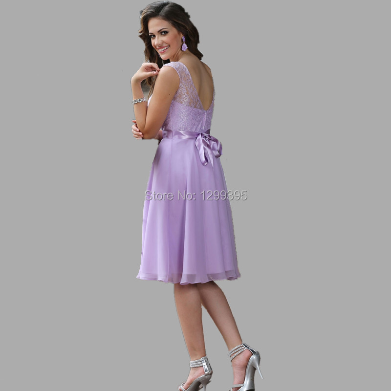 Light Lavender Short Dress – fashion dresses