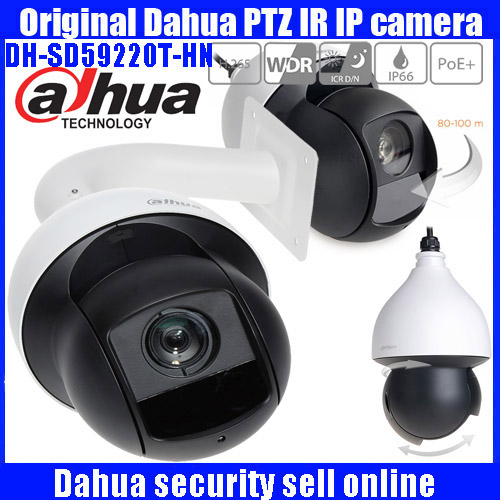 Original Dahua SD59220T HN 2Megapixel Exmor CMOS 20x IR PTZ POE Network Dome Camera English version