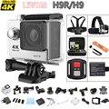 H9R/H9 12MP Ultra HD 4 K 25fps Wi-fi Câmera de Esportes Radicais Mergulho à prova d' água Câmera Lente Cam Ação 170D 2.0 LCD Mini DV Esporte