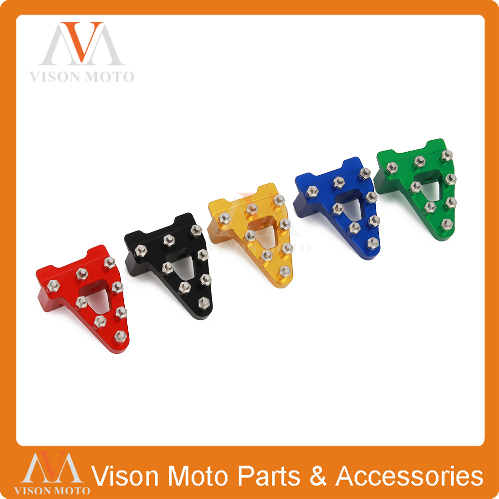 Universal Red Motorcycle Foot Brake Pedal Tip For Honda CRF50 XR50 SDG SSR COOLSTER 50 70 90 107 110 125 125CC Dirt Pit Bikes plastic kit fender for honda crf50 xr50 70 crf 50 xr 50 sdg ssr pro 50cc 110c 125cc dirt pit bike fit for kayo kr110