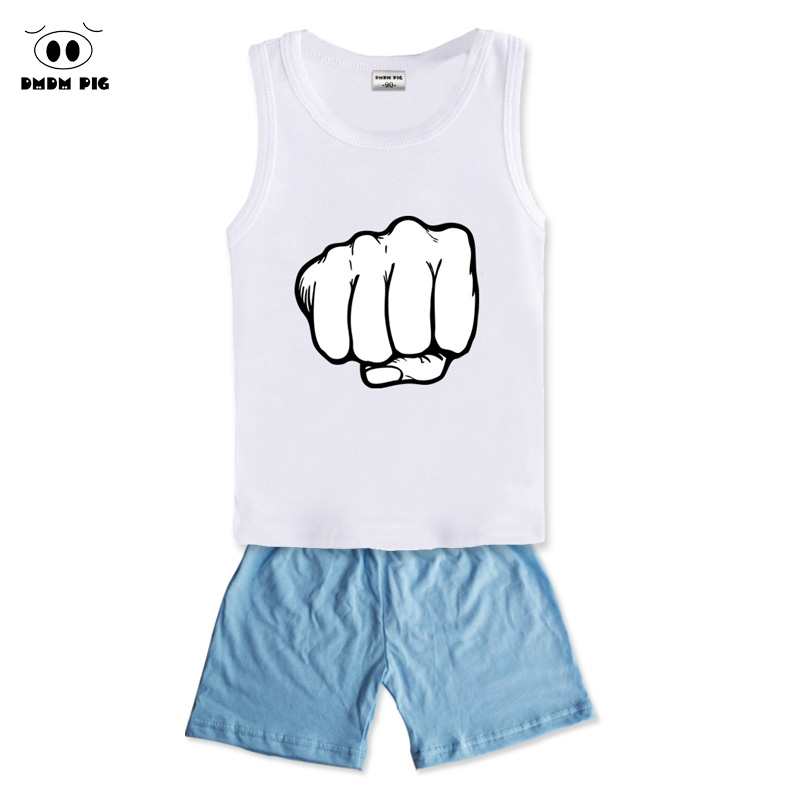 DMDM PIG Summer Clothing Kids Children Clothes Set