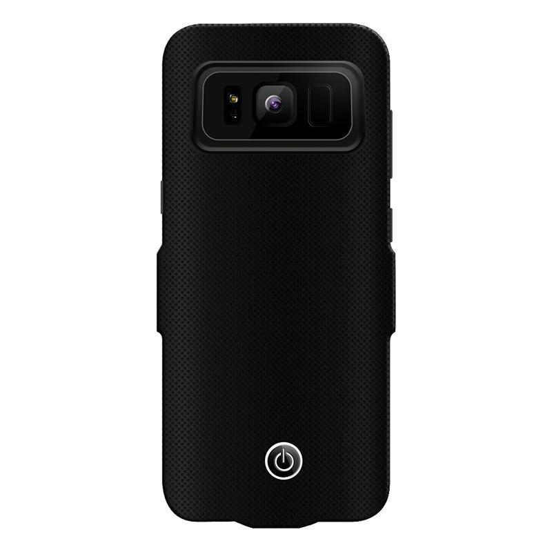 UVR Per Samsung Galaxy S8 S8plus Cassa di Batteria, 7000 mAh Portatile di Ricarica Custodia protettiva Ultra Sottile Batteria esterna della banca di Potere