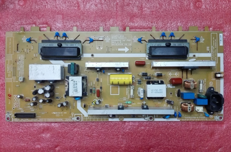 LA32B530P7R power panel BN44-00261A H32F1-9SS is used power panel pd55cf1e zsm bn44 00374a is used