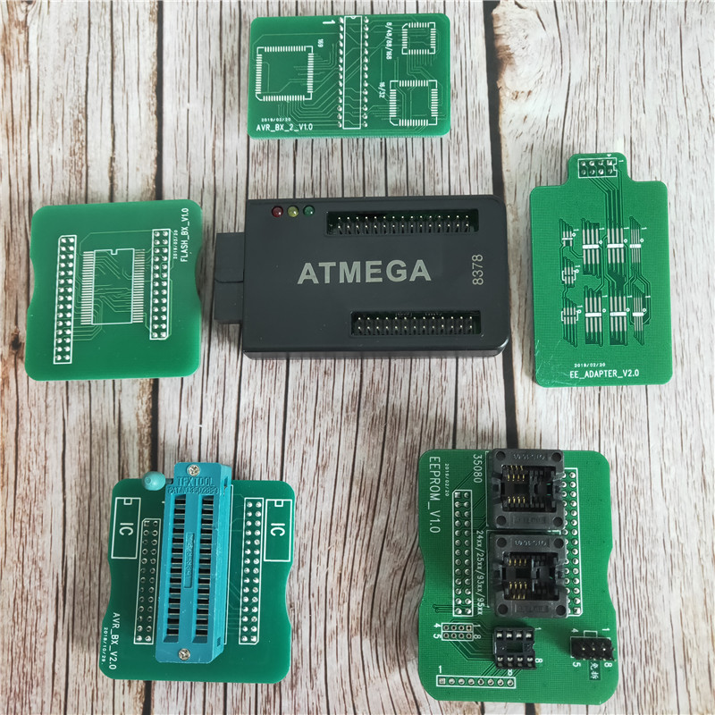 ATMEGA Adapter for CG100 PROG III Airbag Restore Devices with 35080 EEPROM And 8pin Chip-in Air Bag Scan Tools & Simulators from Automobiles & Motorcycles
