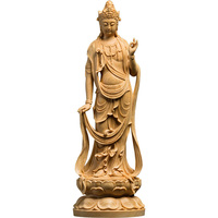 CCZHIDAO The general trend to the Buddha wood carving solid feng shui home dedicated crafts