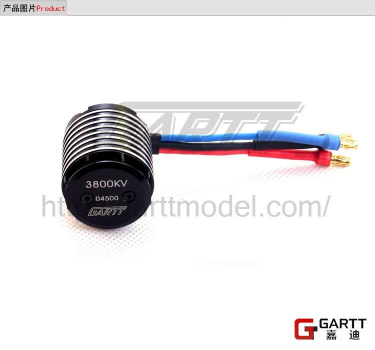 купить GARTT 3800kv 365w Brushless Motor for 450 Align Trex RC Helicopter недорого
