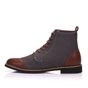 Image 2 - Yتوين ربيع الخريف أحذية الدانتيل غير رسمية الجوارب الرجال حذاء من الجلد Oxfords موضة الأحذية الجلدية الرجال الأحذية حجم كبير 39 48