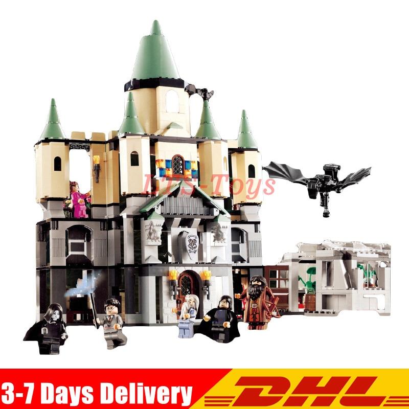 IN Stock DHL Lepin 16029 1033Pcs Movie Series The magic Hogwort Castle Model set Building Blocks Bricks Toys for Children 5378 dhl lepin 07060 1969pcs classic movie series building blocks bricks for education toys 7111