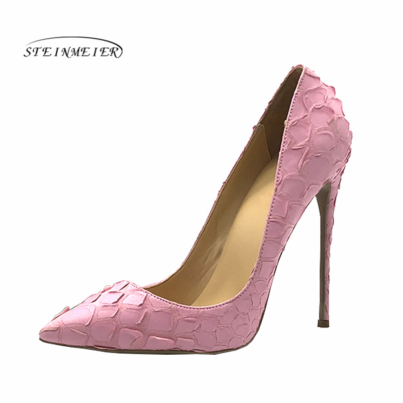все цены на 2019 women pumps high heels Wedding Party Shoes pink High Heel Sexy Spring Women Shoes Pointed Toe Women Pumps