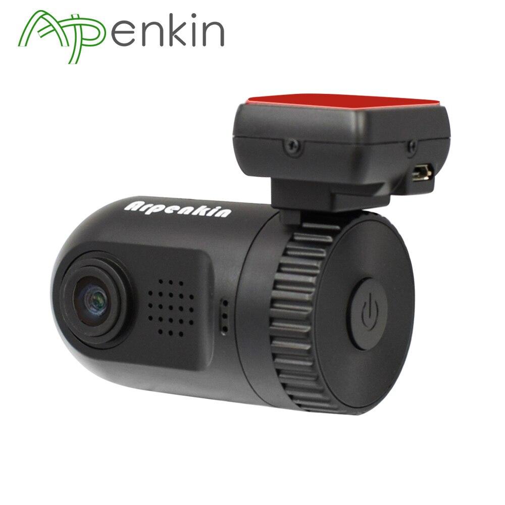 Arpenkin Mini 0805 Dash Cam Macchina Fotografica DVR di Ambarella A7LA50 Super HD 1296 P Registratore di Rilevazione di movimento G-sensor GPS Logger DVR