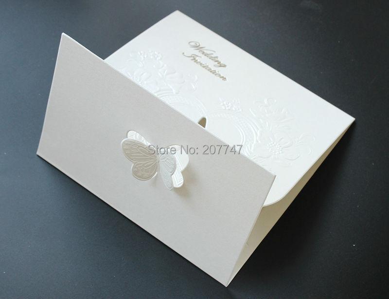 Online Shop 50 StÜcke Laser Geschnitten Hochzeit Invitaions Retro,  Einladungskarten