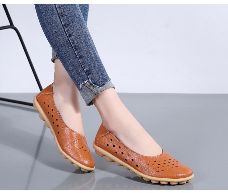 AH 5929-1-2019 Summer Woman Flats Cut-Outs Women Loafers-13