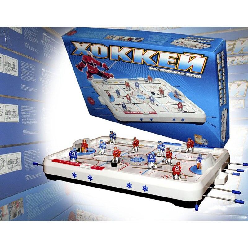 Хоккей настольная игра для двоих Развлечение Развивающая моторику