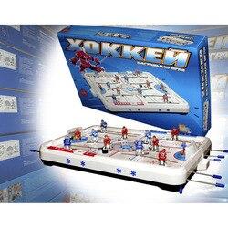 Mini juego de mesa de hockey sobre hielo, juego interactivo de escritorio para dos juegos de agua de batalla, juego de mesa