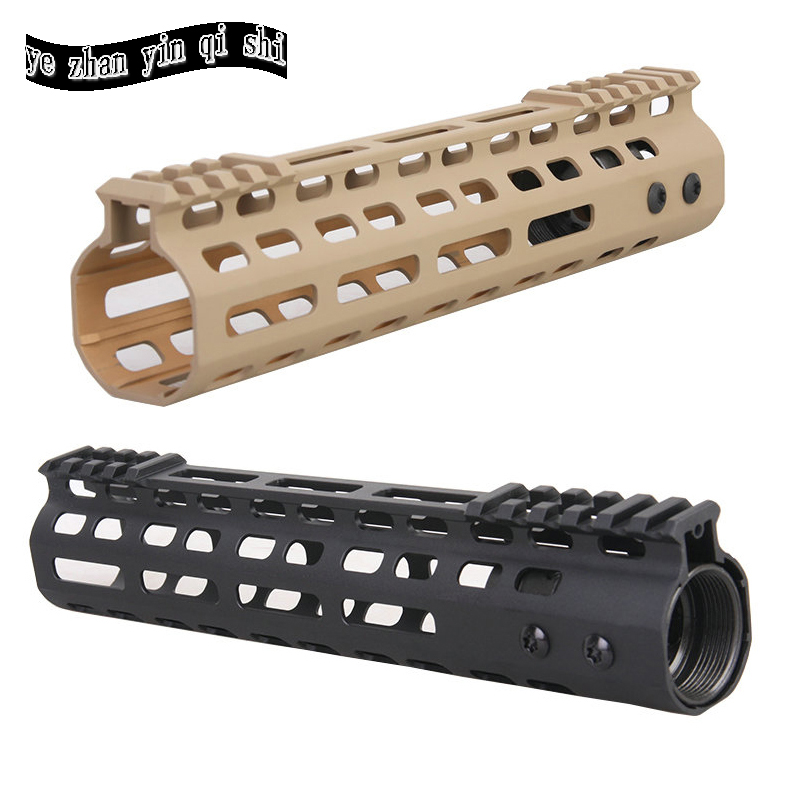 New Lightweight CNC M-LOK 9 inch handguard rail one Picatinny rails system BK/TAN купить