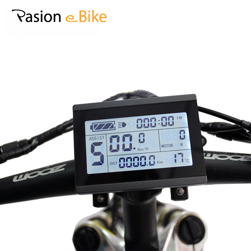 PASION E BIKE 24V 36V 48V Electric Bikes Intelligent LCD3 Control Panel LCD3 Display Screen Electric Bicycle Parts js lcd display for electric bicycle waterproof original connector manual control panel mount on the bike handlebar 36v cycling