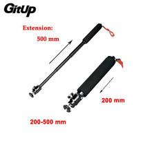 Gitup 50CM Handheld Monopod Tripod GP54 Monopod with Adapter For Gitup Action Camera Accessories Free Shipping