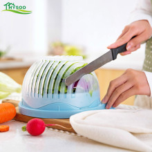 New salad bowl creative fruit cutting multifunctional and vegetable divider environmental protection materials